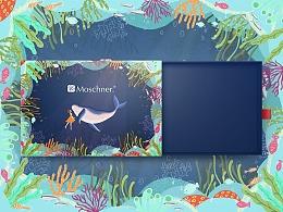 包装插画设计—生日礼盒