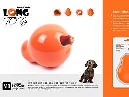 宠物包装设计-漏食玩具品牌视觉