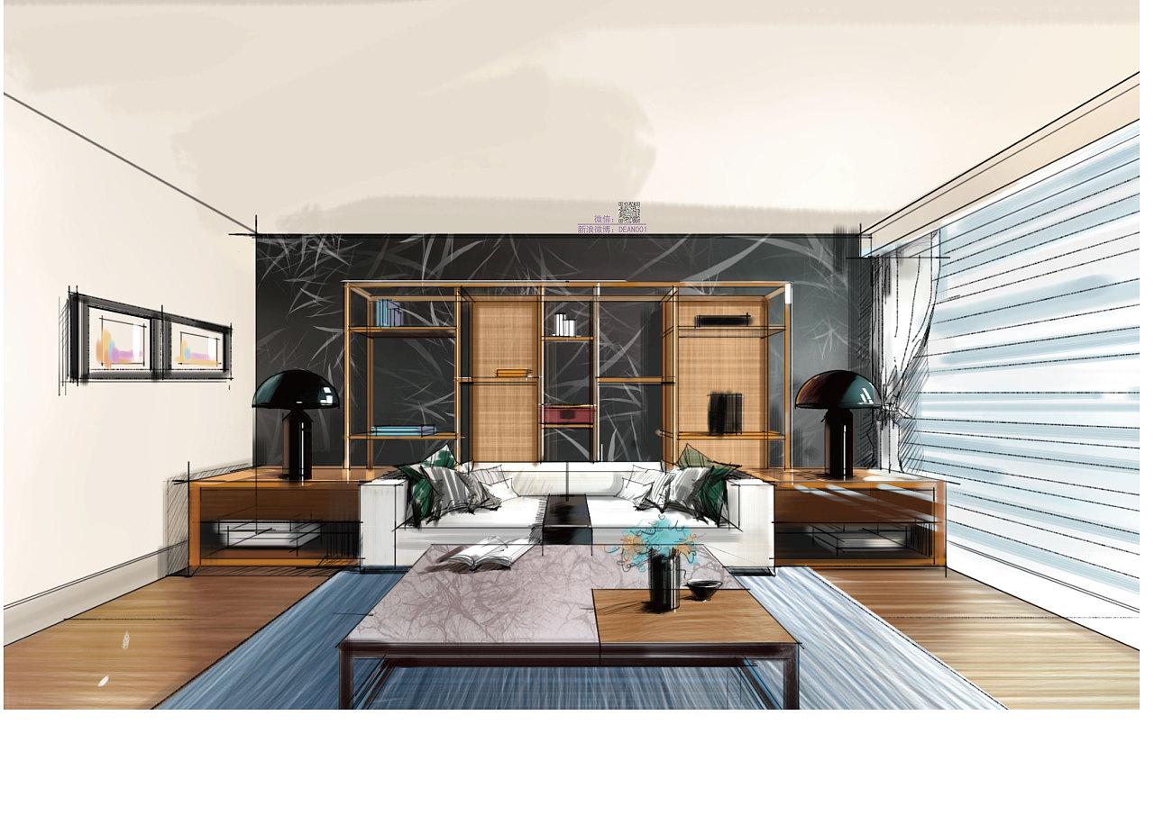 室内设计快速手绘