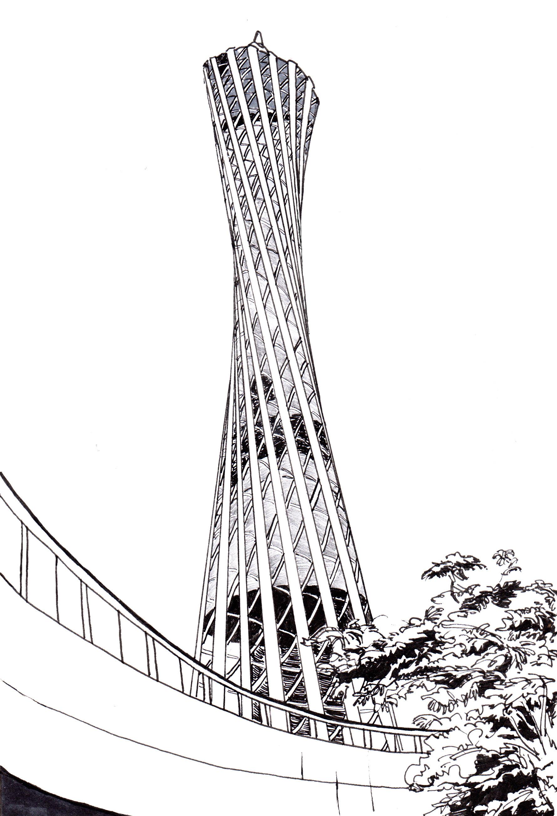 广州代表建筑手绘