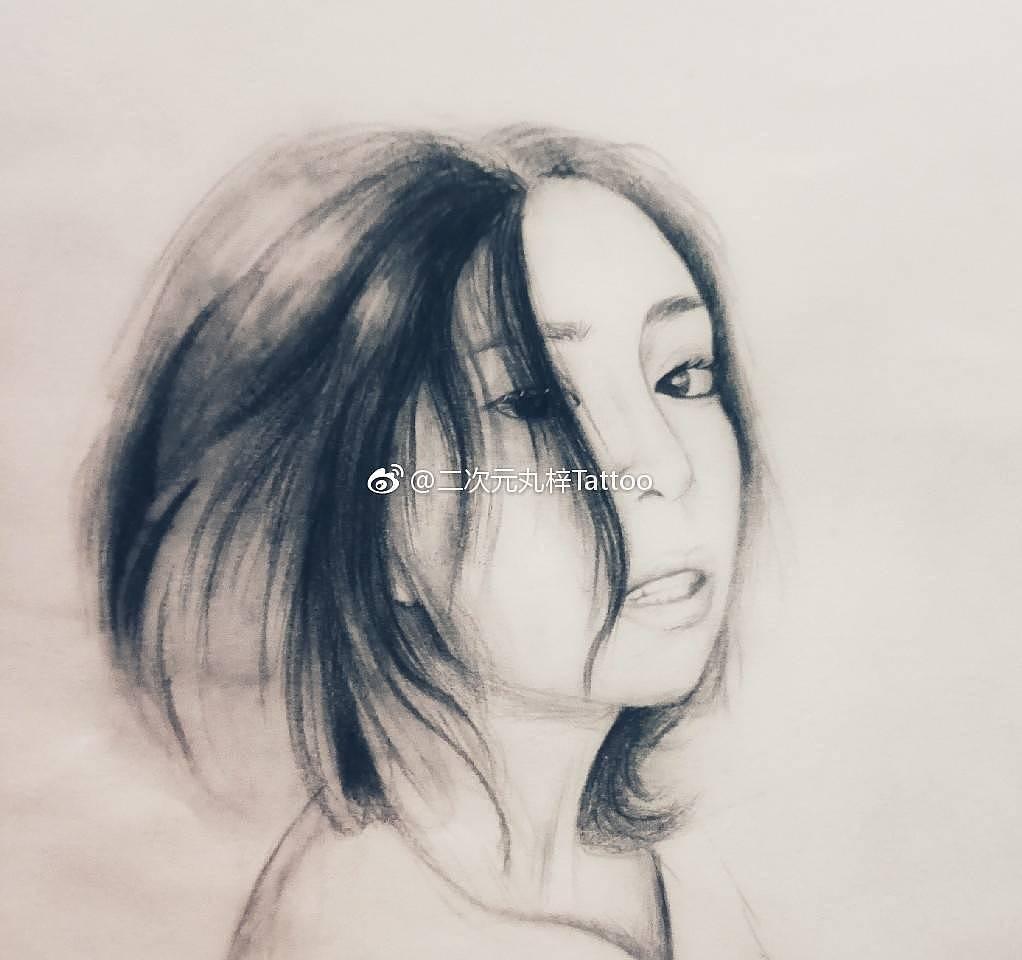 照片转手绘创意速写素描手稿