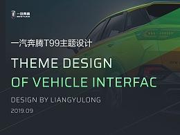 一汽奔騰T99主題征集設計