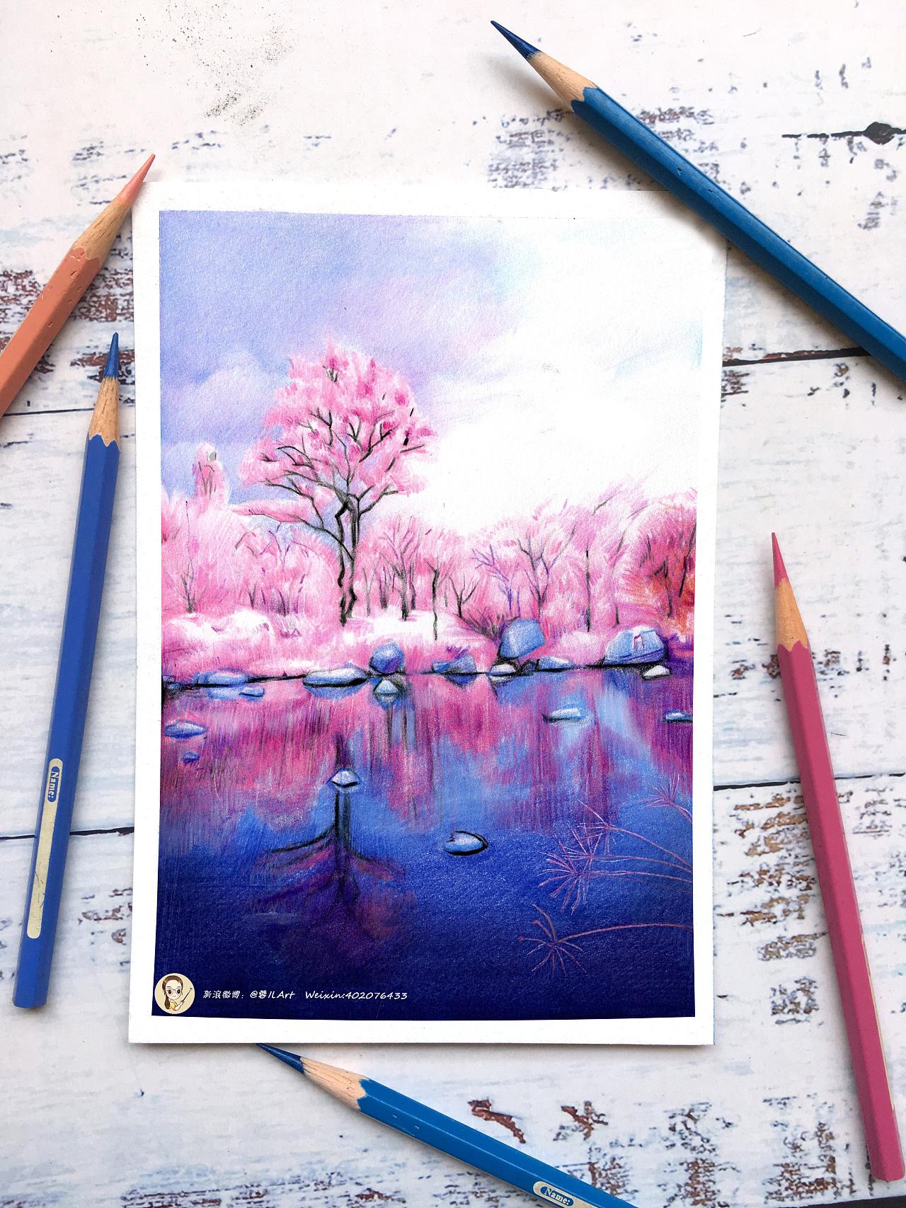 风景画技法练习