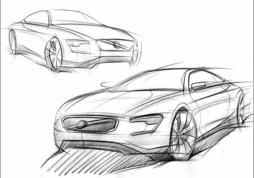 汽车手绘|工业/产品|交通工具|jamay - 原创作品
