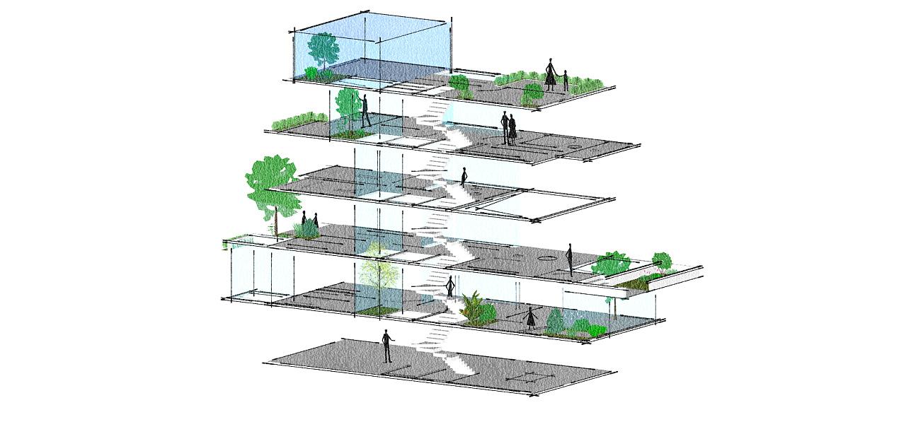 别墅采光分析图|空间|建筑设计|aalto - 原创作品