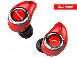 SUPREME 耳机渲染建模