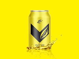啤酒产品设计《鹰眼躁啤》