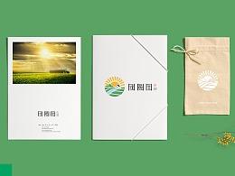 谷物类农产品logo及部分VIS应用