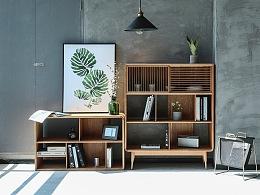 格纳书柜/属于阅读的时光,为一种生活态度而设计