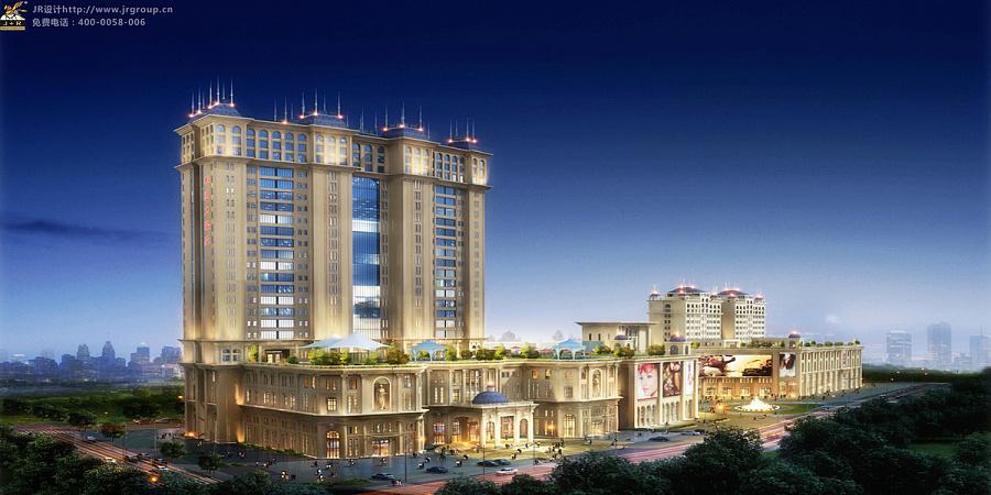 松原香格里拉酒店|建筑设计|空间\/建筑|香港JR酒
