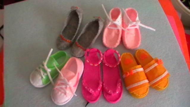 布布小鞋子|其他手工|手工艺|雨人七度 - 原创设计