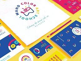 塑造品牌性格—顽彩艺术品牌全案设计