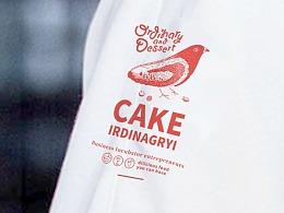 OD甜品店 品牌形象设计2 | 可爱 有趣 插画 蛋糕