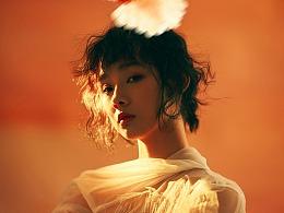 兰奕的纱,凉风徐徐,白鸽呢喃。