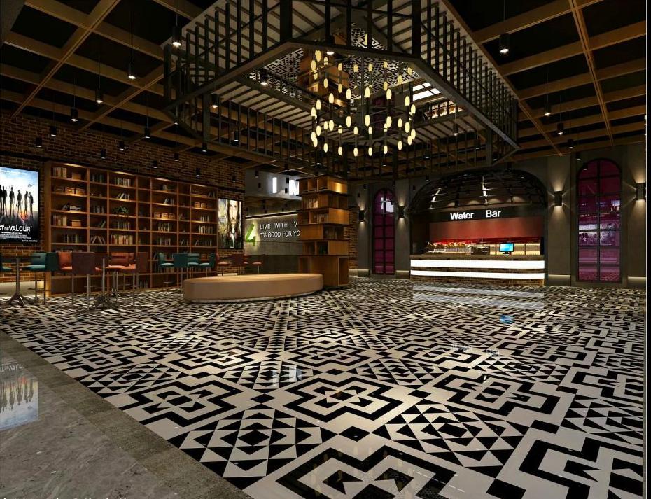 成都电影院装修设计 上海电影院装修设计成都装修招标图片