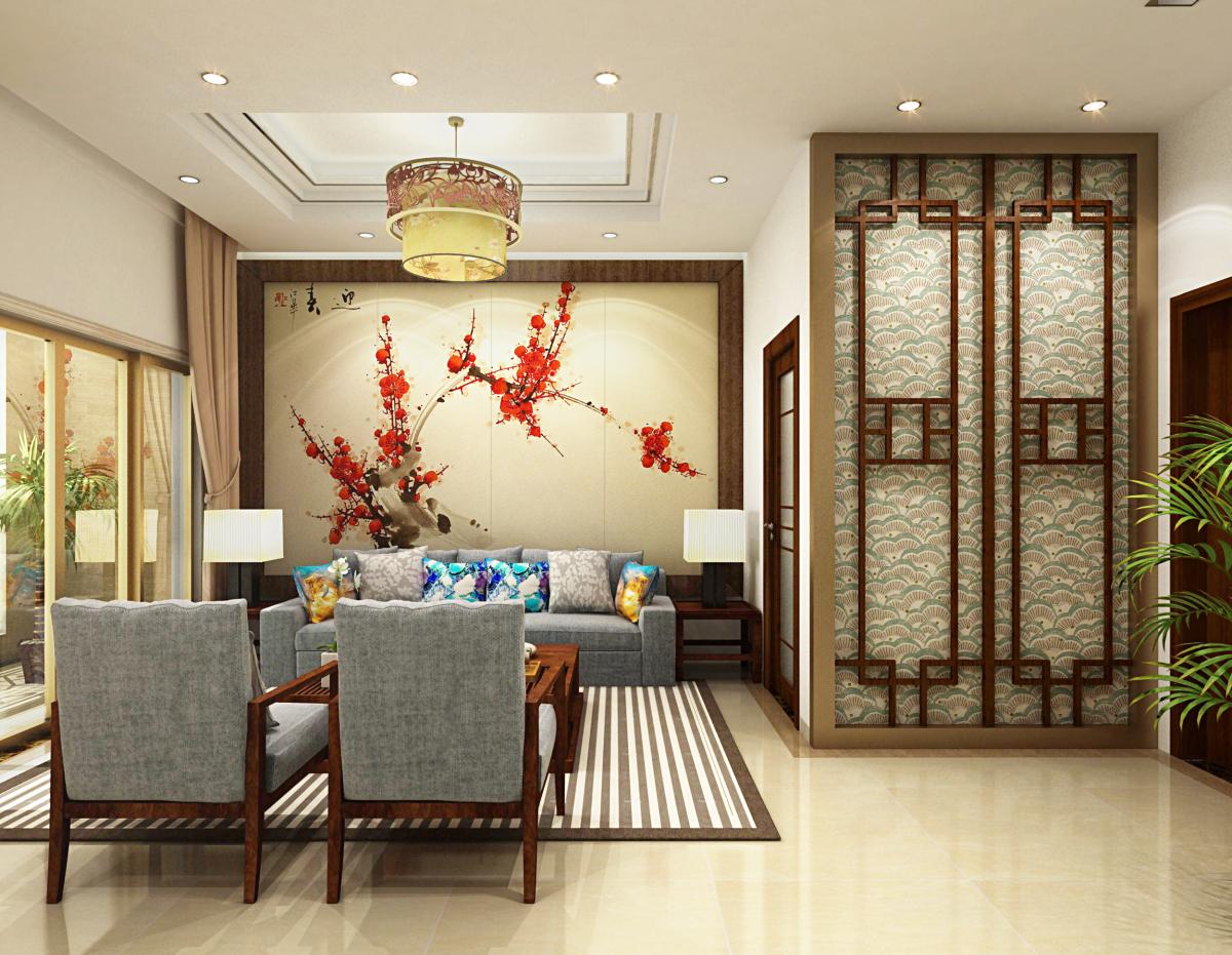 《新中式餐厅包厢》图片