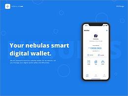 Nebulas Wallet App Design