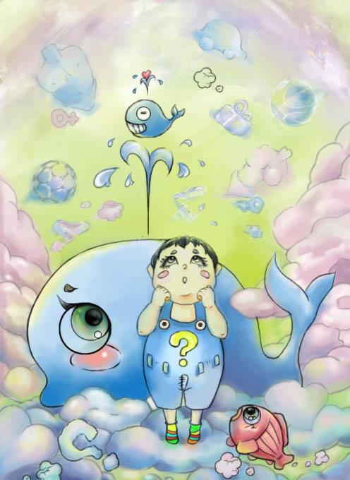 成长日记|插画|儿童插画|huanhuan3311199 - 原创作品
