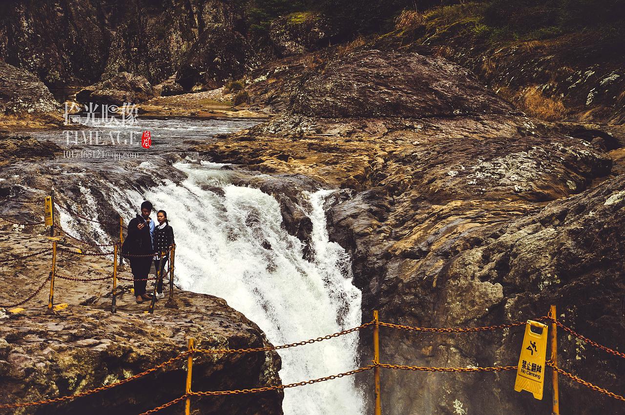 白水洋鸳鸯溪大峡谷青铜大好瀑布45mn锡山河板图片