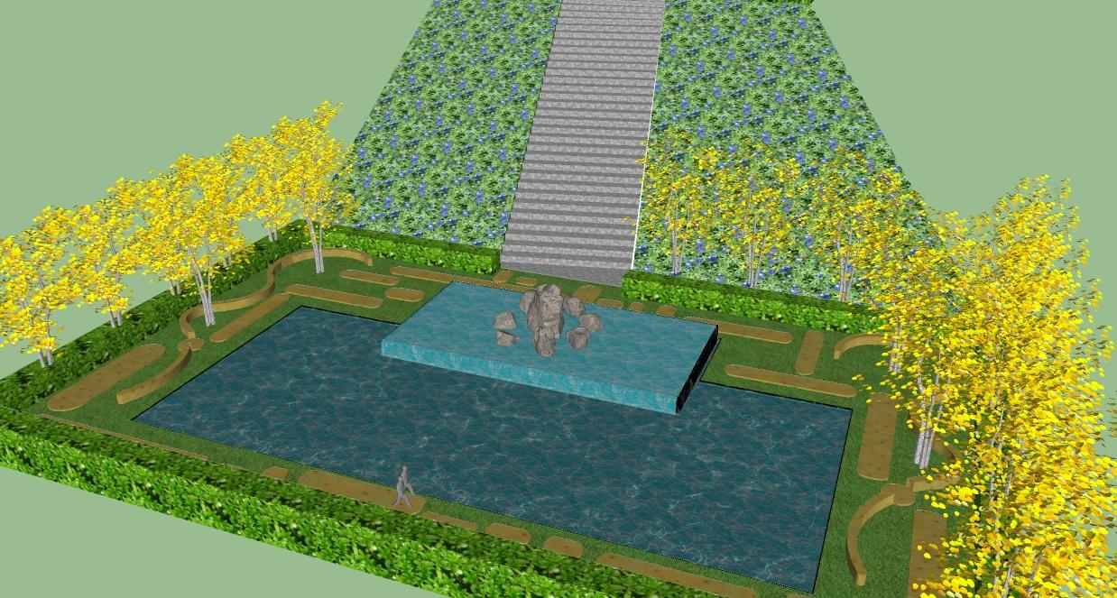 学校景观节点设计