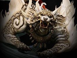 台湾原型师PKking《九天衡》系列作品——西宫·白虎