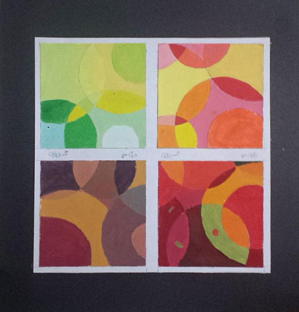 类似调和色彩构成_《色彩构成》课程单元色彩的对比与调和说课_图文_百度文库 《色彩