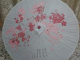 伞画(顺便作首小诗)