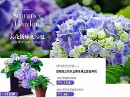 bp 花言蔬语 8月日常 店铺首页页面
