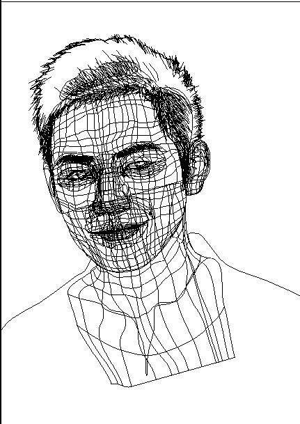 第一张结构图 br>眼睛,嘴,耳朵,鼻子,脖子分开绘制的