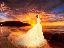 影楼后期-婚纱照