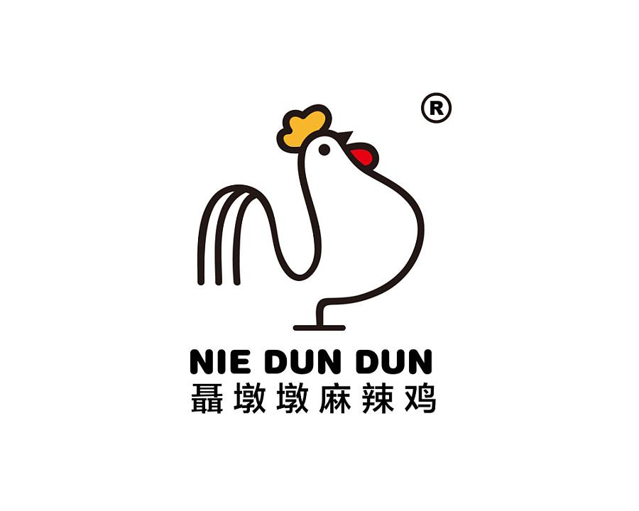 聂墩墩麻辣鸡标志设计|标志|平面|画德思设计工作室图片
