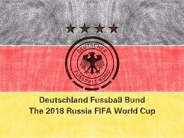 2018年世界杯绘画系列——巡礼卫冕冠军德国队
