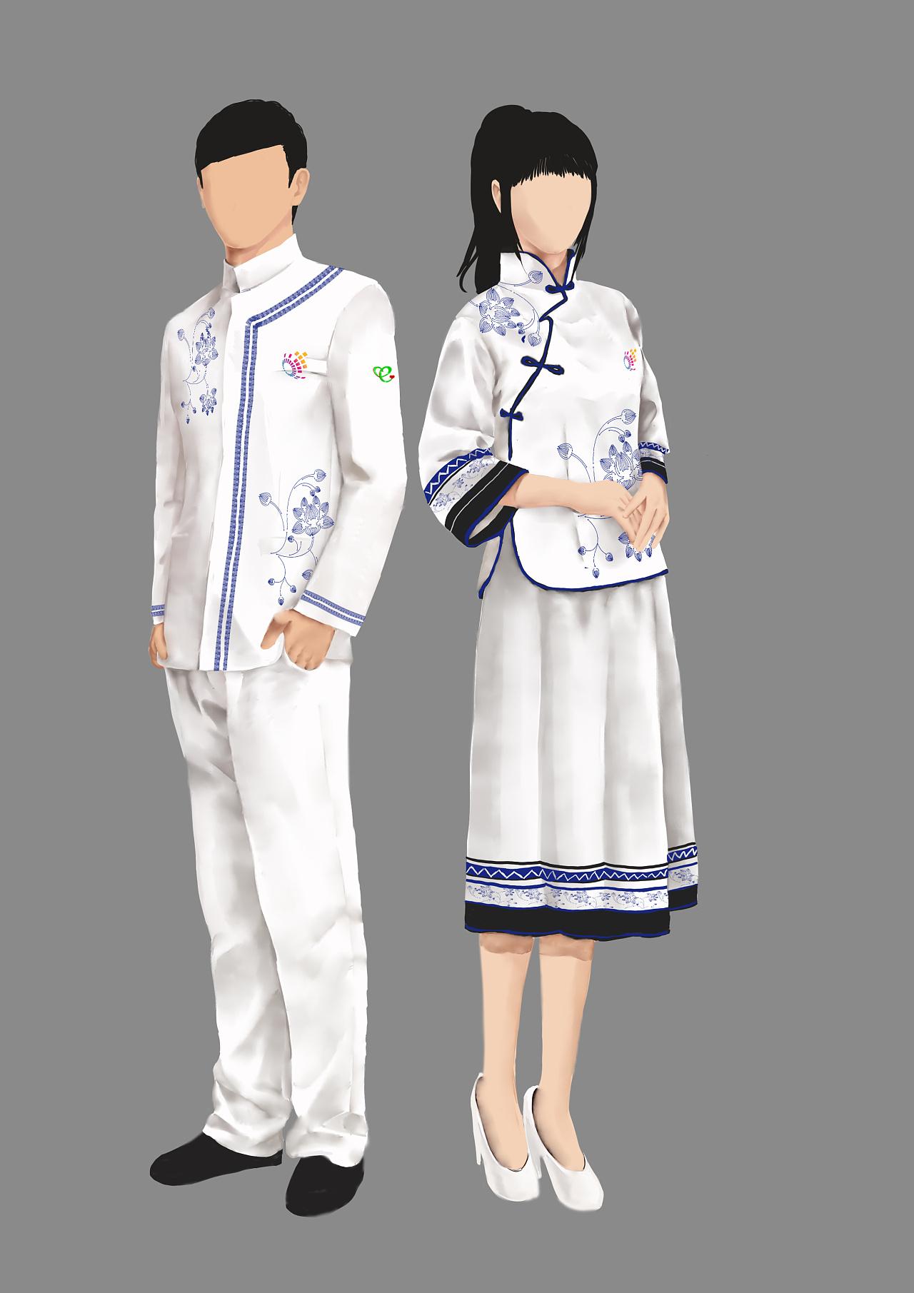 服_2015数博会志愿者服装设计