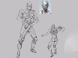 【原创 多图】《虚幻争霸》角色锐斯设计图