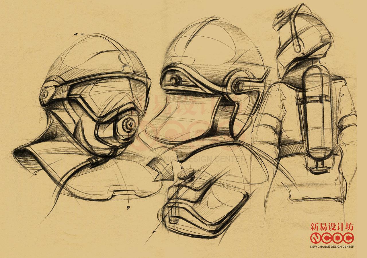 工业产品手绘_工业设计产品手绘:工业设计手绘|工业/产品|电子产品|新易设计 ...