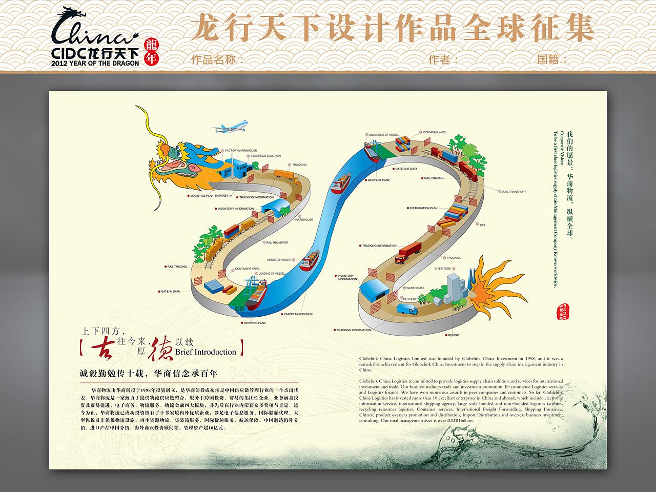 华商纵横画册内页插图设计图片
