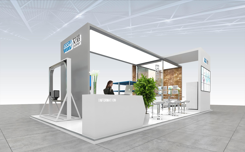 2017杭州医疗器械展|空间|展示设计 |设计鑫鑫 - 原创图片