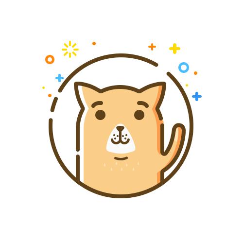 画几个自己喜欢的小动物~ 难过的是 现在画什么都像狗.