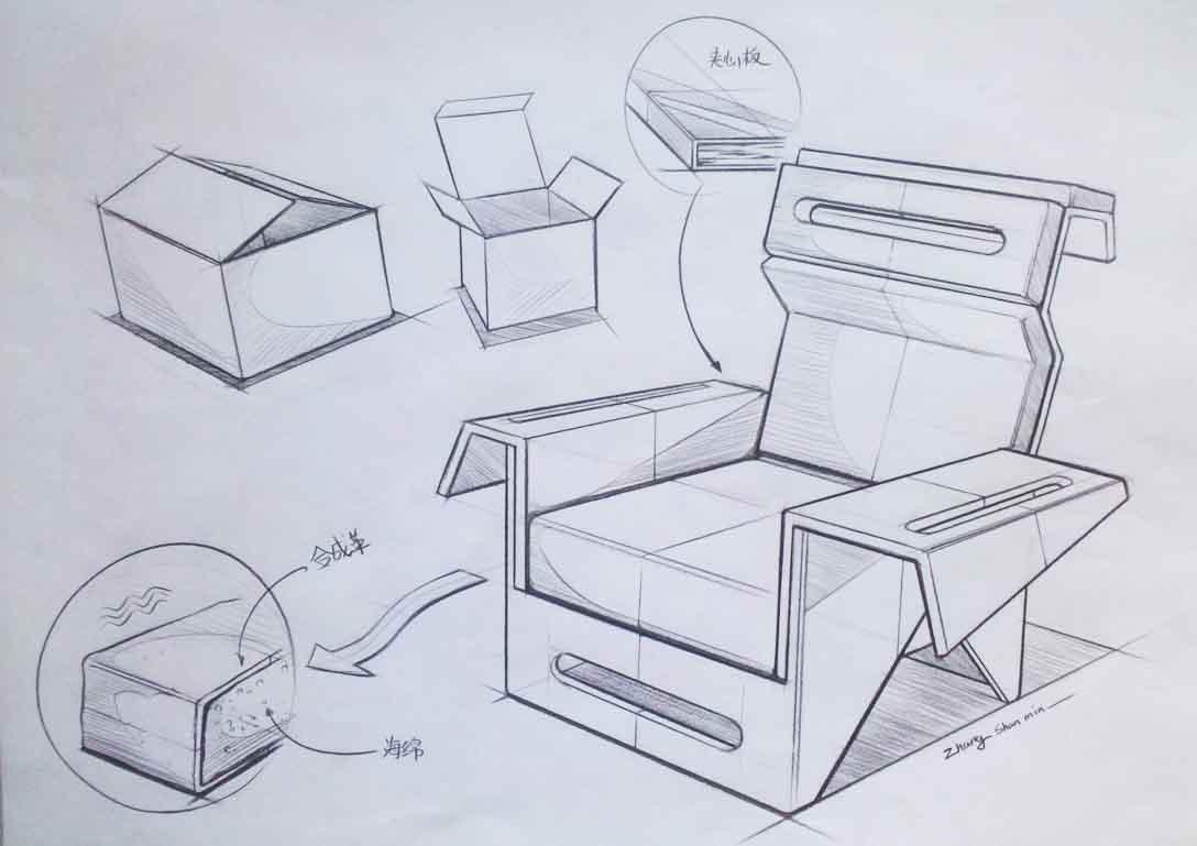 手绘习作|工业/产品|交通工具|zhangshanmin - 原创