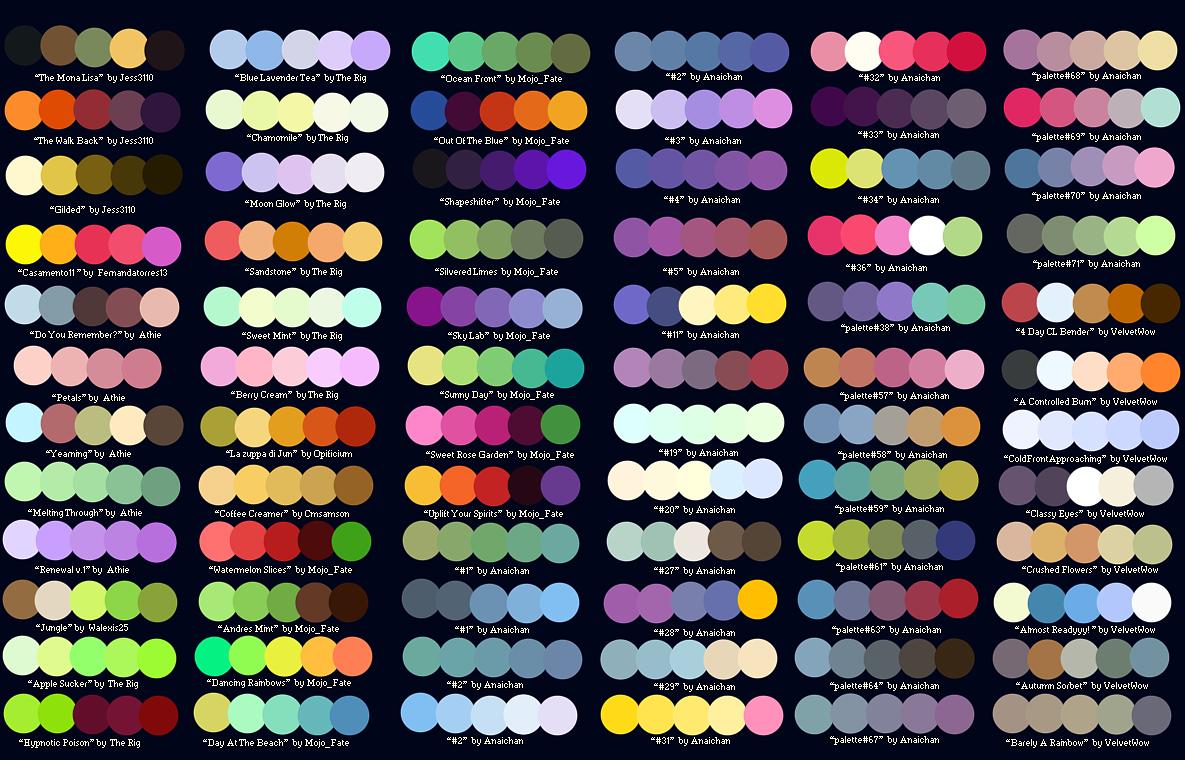 网页配色方案(转载) 平面 图案 Liveforlove 原创作品 站酷 Zcool