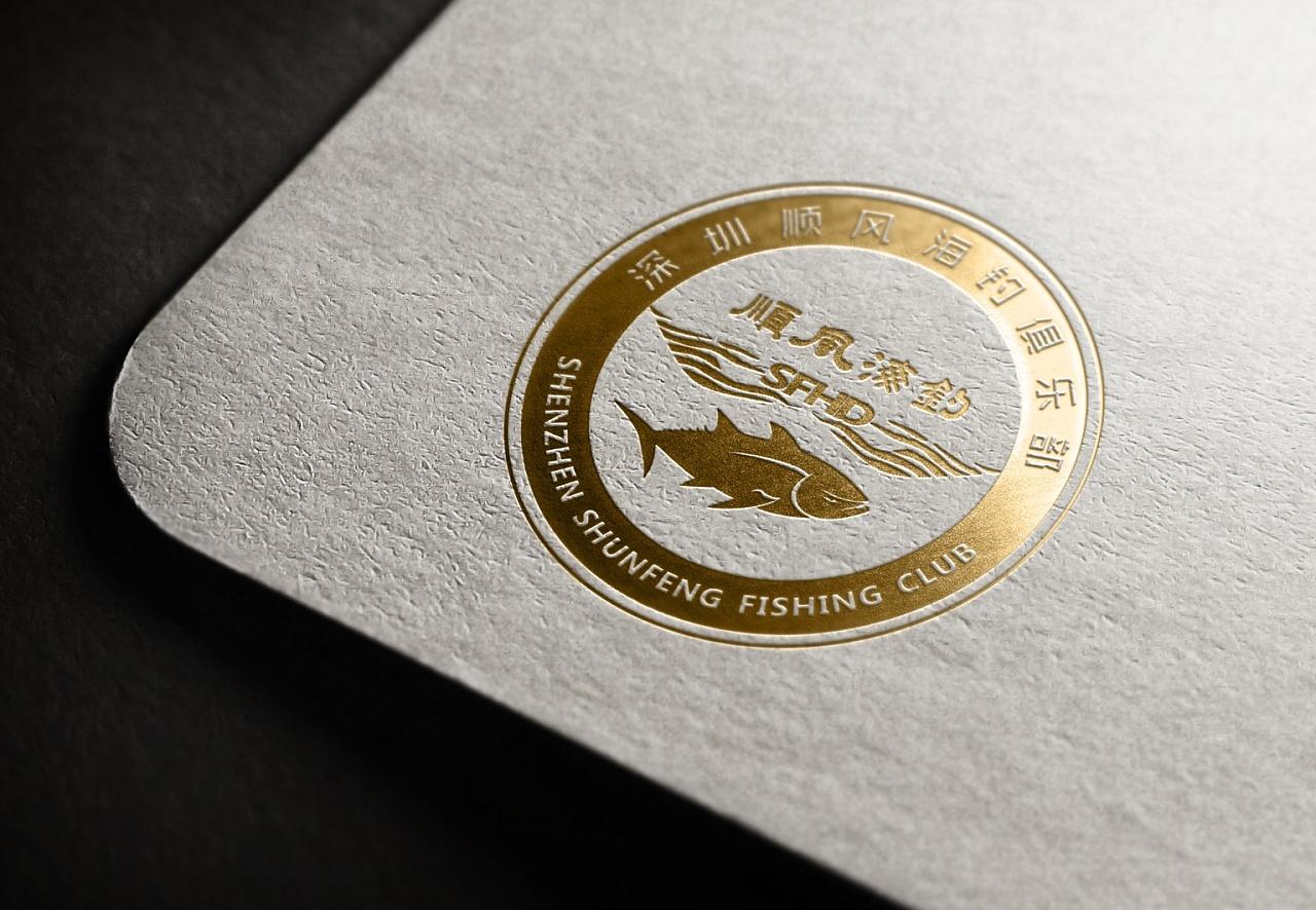 顺风��`$�ceyc_顺风海钓俱乐部logo设计
