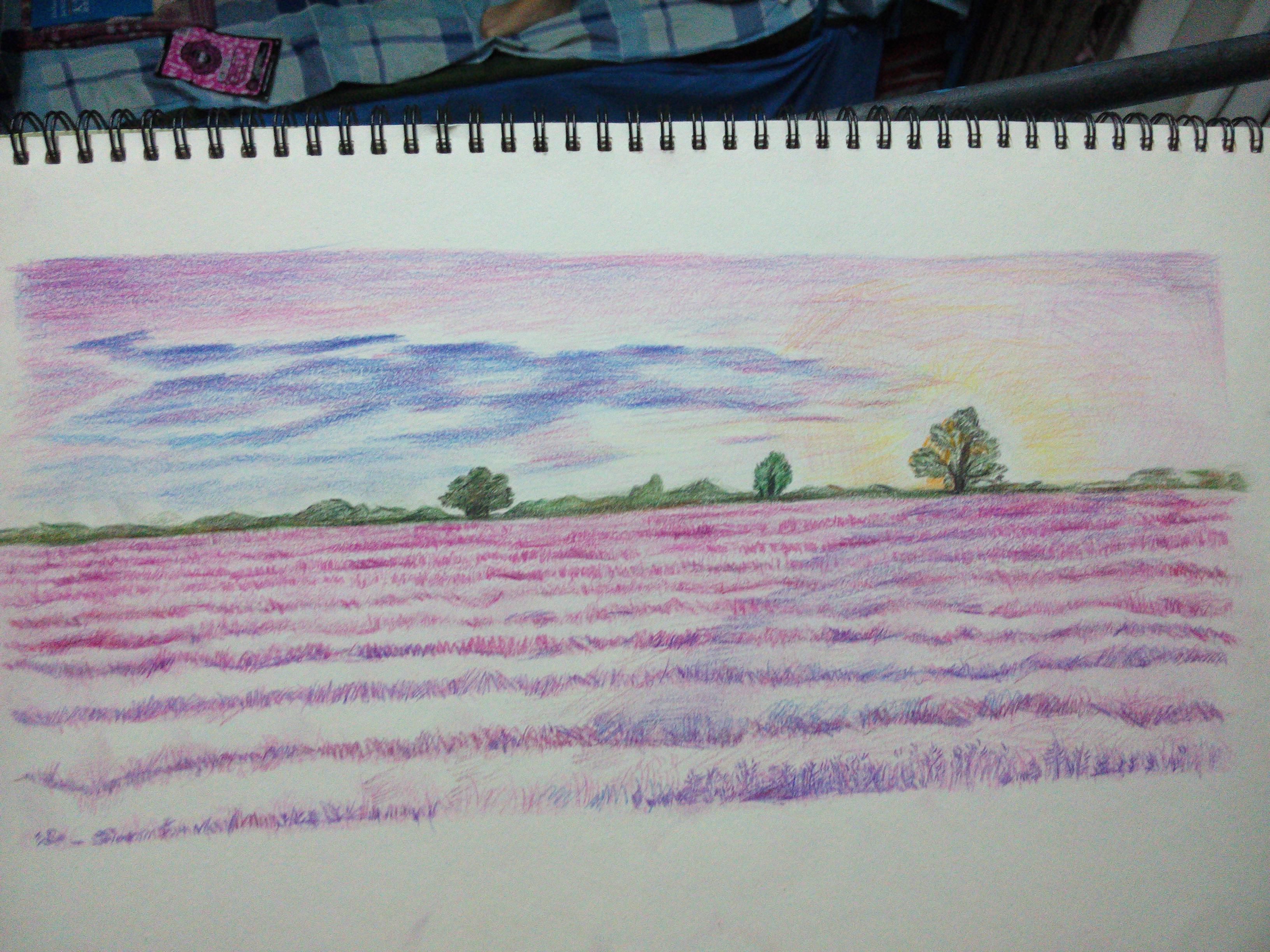 彩铅手绘|其他|其他|尛雪花 - 原创作品 - 站酷