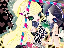 暗黑甜美少女画像-玛丽娃娃系列合集