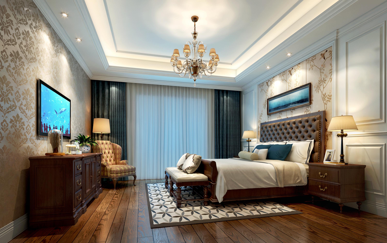 美式风格主卧室