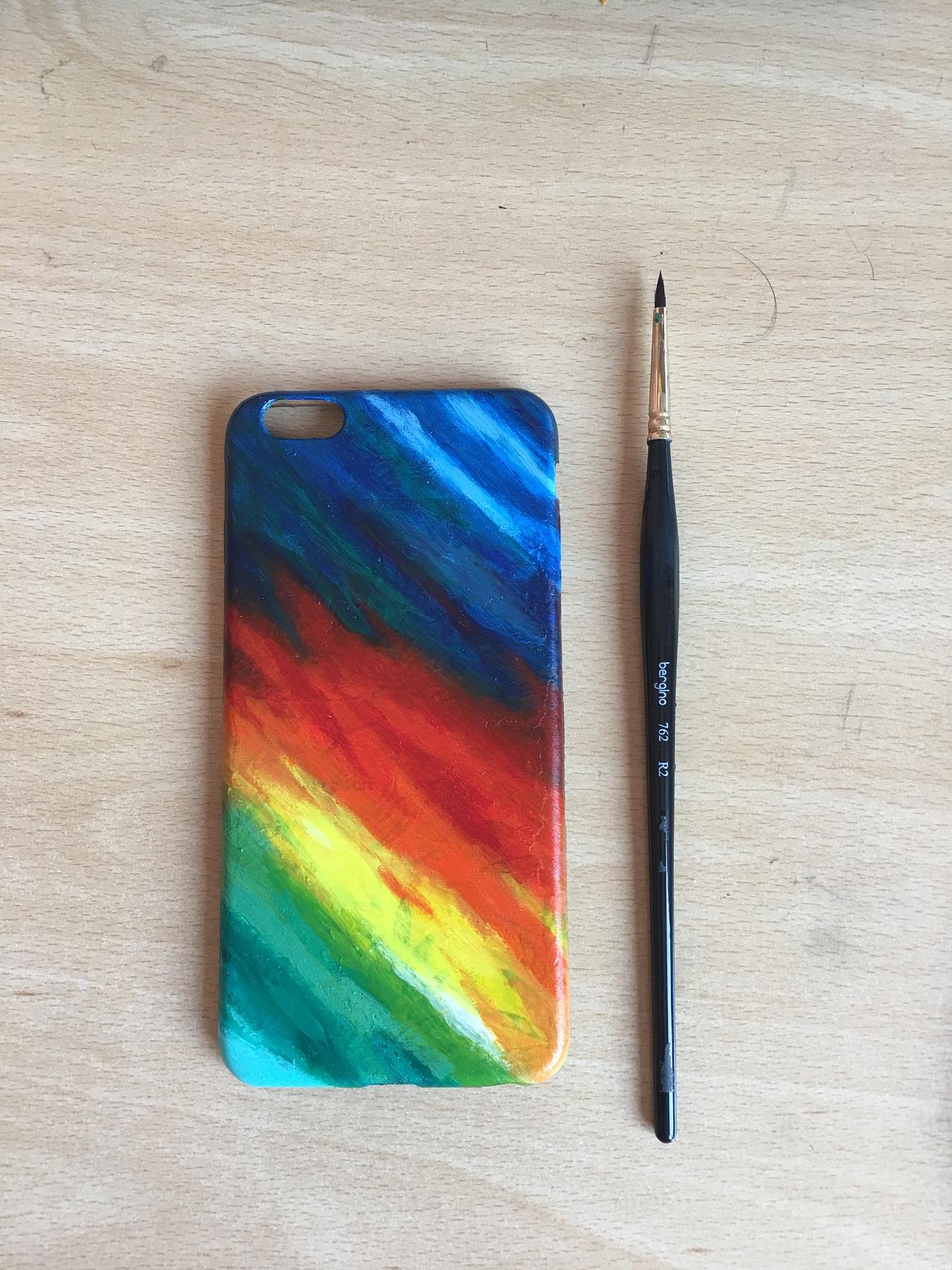 手绘手机壳