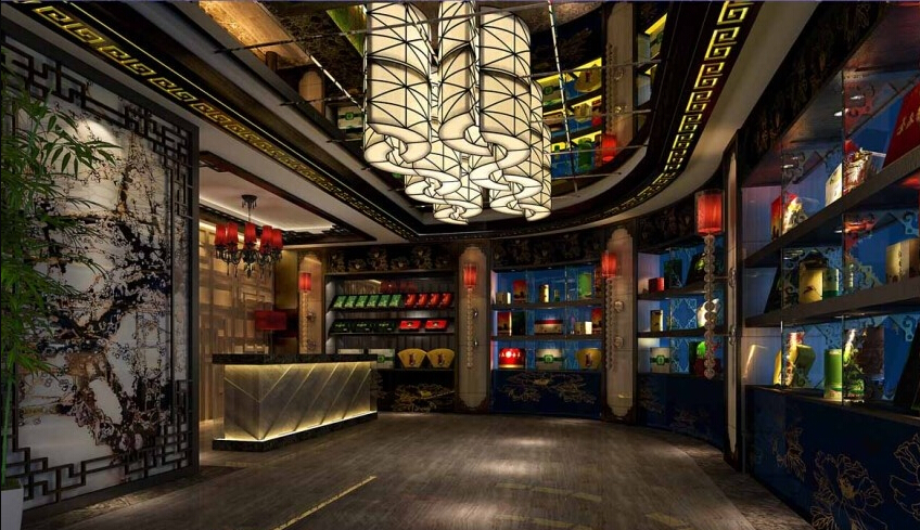马尔康茶楼装修设计案例|室内设计|空间/建筑|马尔康