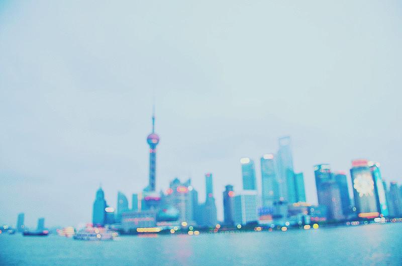 上海外滩手绘图片大全
