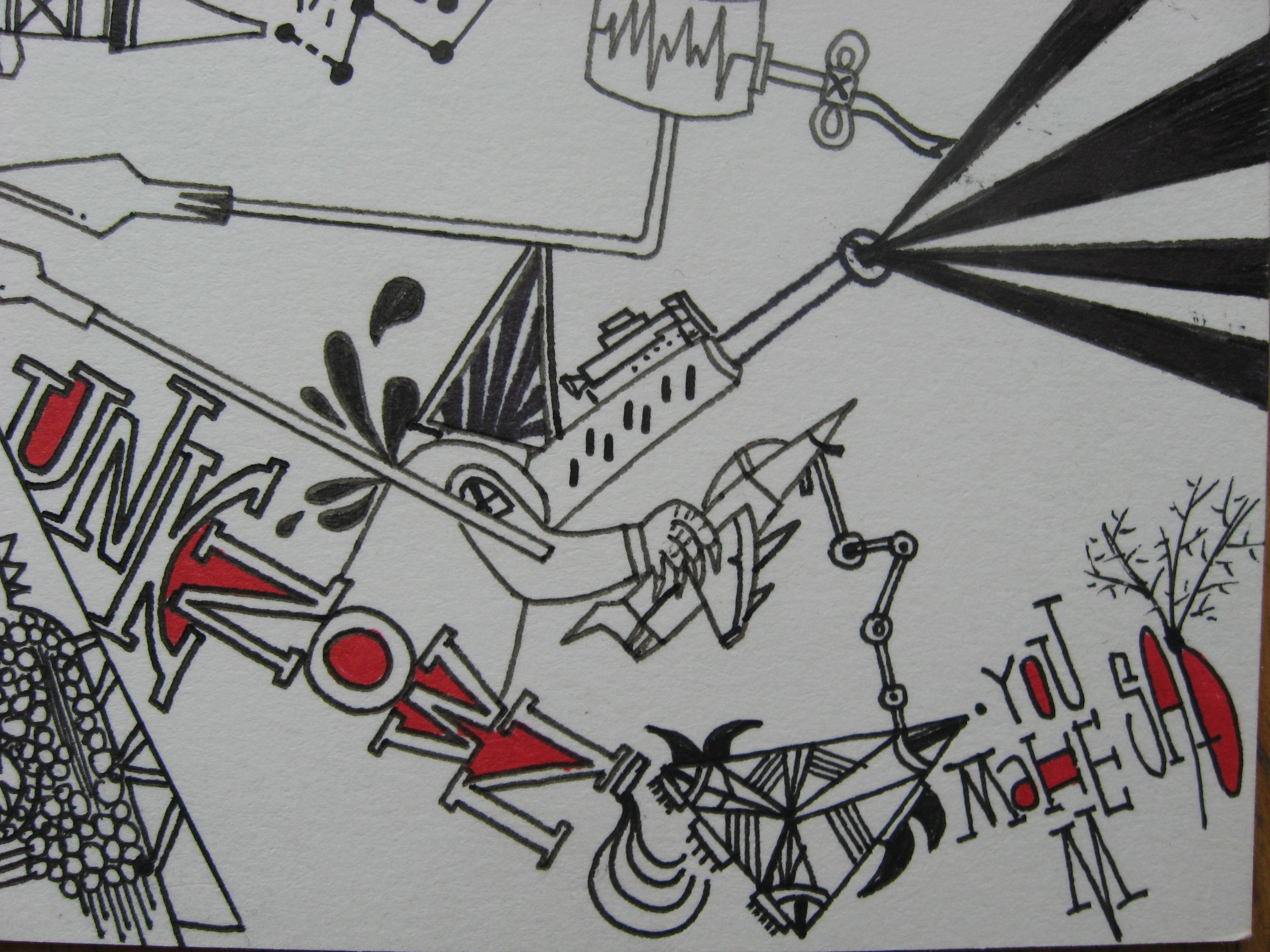 手绘明信片|插画|其他插画|fingergold - 原创作品
