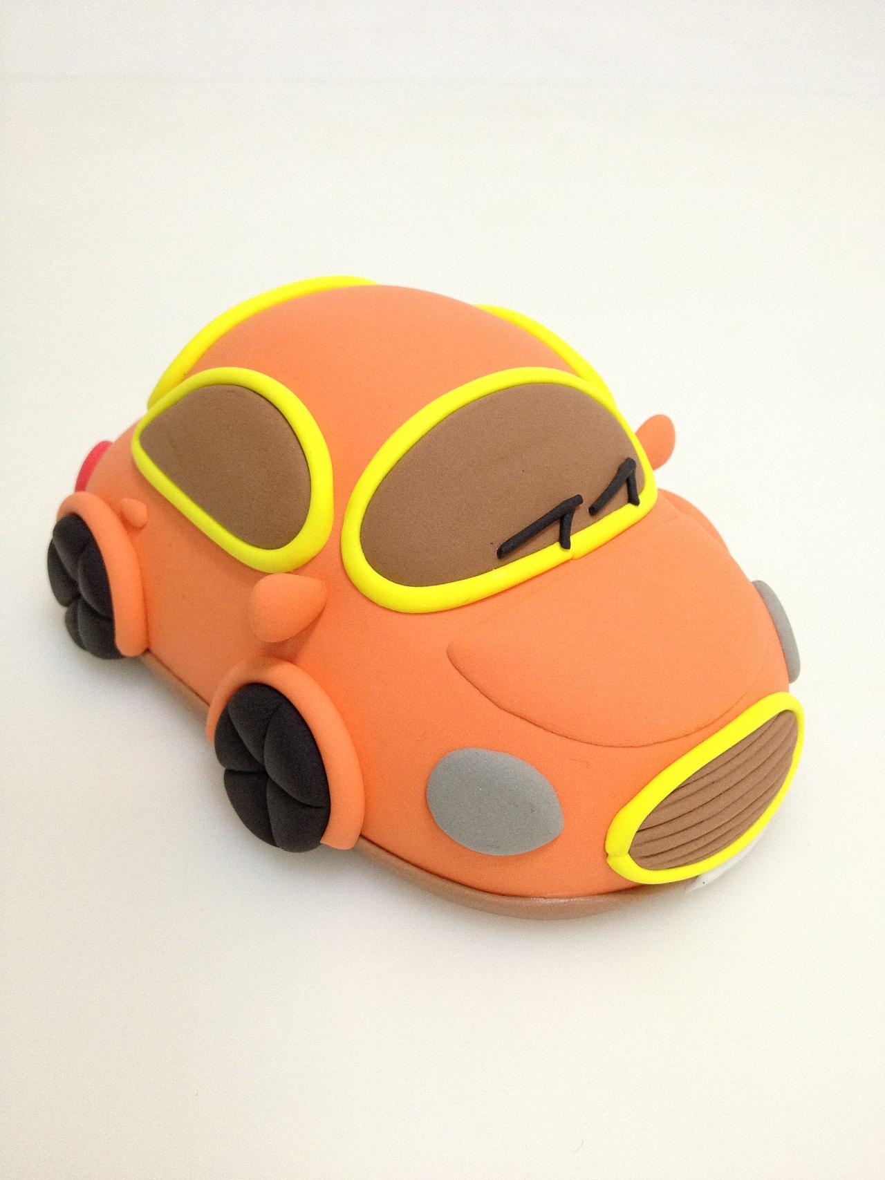 粘土制作小汽车
