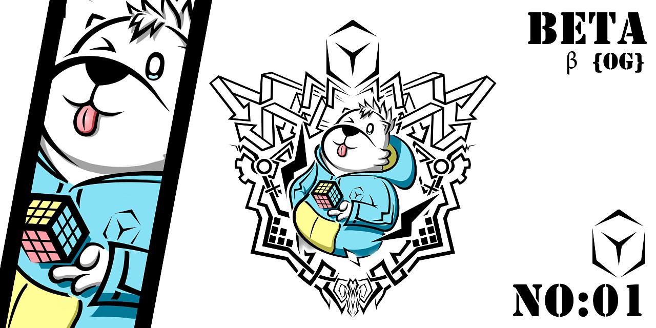 {β-x} 卡通x纹身风格